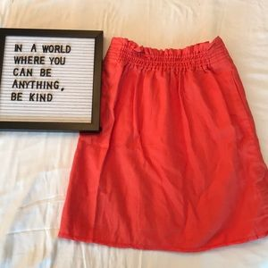 J Crew skirt with pockets!